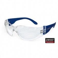 Apsauginiai akiniai Pesso ASCRACK , skaidrūs