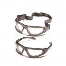 Apsauginiai akiniai ZEKLER 80, skaidrūs