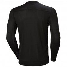 Apatiniai marškinėliai HELLY HANSEN Lifa Crewneck, juodi