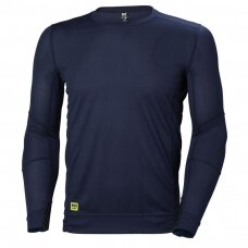 Apatiniai marškinėliai HELLY HANSEN Lifa Crewneck, tamsiai mėlyni