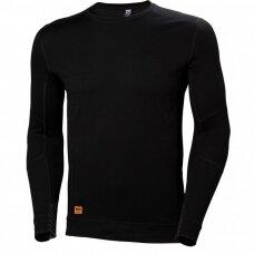 Apatiniai marškinėliai HELLY HANSEN Lifa Max Crewneck, juodi