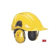 Apsauginės ausinės tvirtinamos prie šalmo 3M Peltor Optime A201S