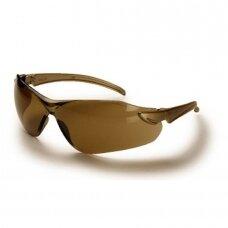 Apsauginiai akiniai ZEKLER 15, rudi