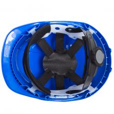 Apsauginis šalmas STEPO W-037, mėlynas