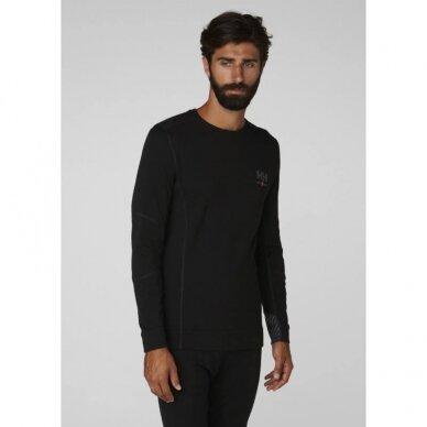 Apatiniai marškinėliai HELLY HANSEN Lifa Merino Crewneck, juodi 3