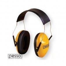 Apsauginės Pesso A519 ausinės su metaliniu lankeliu per galvą Pesso