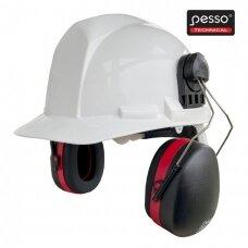 Apsauginės ausinės Pesso A525 tvirtinamos prie šalmo