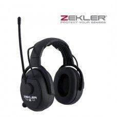Ausinės Zekler 412R su FM radija