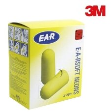Ausų kamštukai 3M ES-01-001 (250 porų)