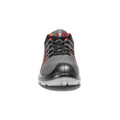 Batai ELTEN Jori Flex Red Low S1P, juodi/raudoni 3
