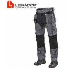 Darbinės kelnės L.Brador 1042PB, pilkos