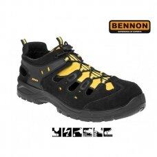 Darbiniai sandalai BENNON Bombis S1P SRC, geltoni