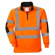 Darbinis džemperis PORTWEST B308 , oranžinis