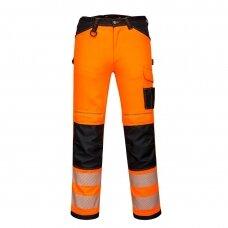 Darbo kelnės PORTWEST PW340, oranžinės/juodos