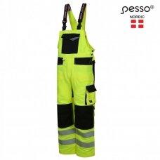 Darbo puskombinezonis Pesso URANUS Flexpro DP135G, HI-VIS geltonas