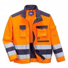 Darbo švarkas PORTWEST TX50, oranžinis