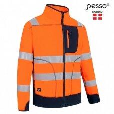 Džemperis Pesso FL02OR Fleece oranžinis, mėlynas