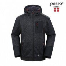 Pašiltintas Pesso OREGONdžemperis, pilkas/juodas