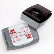 Filtrai 3M 6038 P3 nuo kietųjų ir skystųjų dalelių