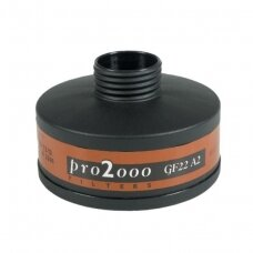 Filtras pilnai kaukei 3M PRO2000, A2