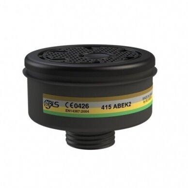 Filtras BLS 415 A2B2E2K2 kaukei, nuo dujų