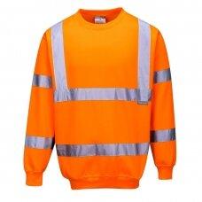 Gero matomumo džemperis PORTWEST B303, oranžinis