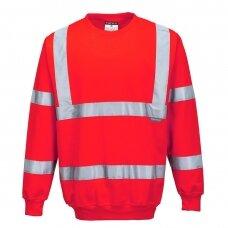 Gero matomumo džemperis PORTWEST B303, raudonas