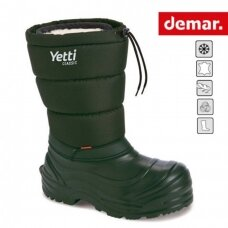 Guminiai batai Demar Yetti Classic A su naturalia vilna