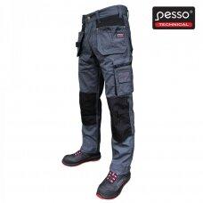 Darbo kelnės Pesso KDP110P, pilkos