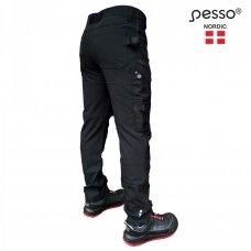 Kelnės Pesso Mercury KD145B stretch, juodos