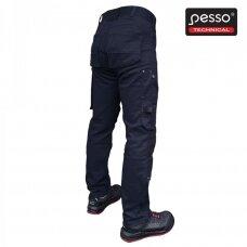 Darbo kelnės PESSO KD215M stretch, mėlynos