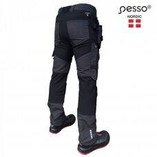 Darbo kelnės Pesso KD126P TITAN Flexpro, pilkos