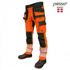 Darbo kelnės Pesso KD135 Uranus, oranžinė