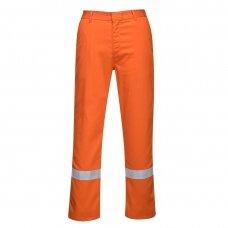 Kelnės PORTWEST BZ14 apsaugančios nuo radiacinio karščio ir lydyto metalo, oranžinės