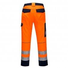 Kelnės PORTWEST MV36 oranžinės/tamsiai mėlynos