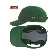 Šalmas kepurė Pesso KAPSPZ, žalia
