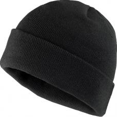 Kepurė CZBAW, akrilinė juoda