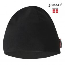 Kepurė Pesso KSKF flisinė, juoda
