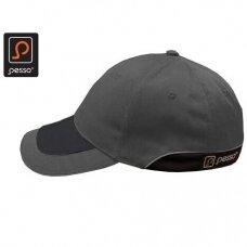 Kepurė PESSO KPP su snapeliu, pilka