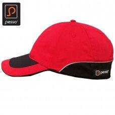 Kepurė PESSO KPRAUD  su snapeliu, raudona