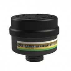 Kombinuotas BLS 425 A2B2E2K2-P3 filtras kaukei apsaugo nuo dulkių ir dujų