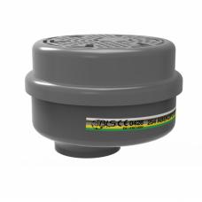 Kombinuotas BLS ABEK1-P3 R filtras puskaukei nuo dulkių ir dujų