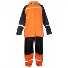 Kostiumas 0S-5073 nuo lietaus, oranžinis