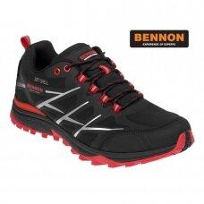 Laisvalaikio neperšlampami batai  BENNON CALIBRO Red Low Softshell
