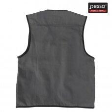 Liemenė Pesso DICP iš Canvas audinio, pilka