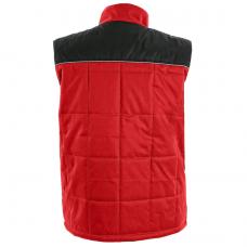 Liemenė CXS SEATTLE, pašiltinta, raudona/juoda