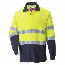Liepsnai atsparūs antistatiniai PORTWEST FR74 marškiniai