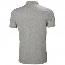 Marškinėliai HELLY HANSEN Kensington Polo, pilki