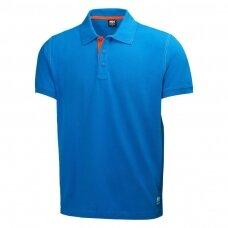 Marškinėliai HELLY HANSEN Oxford Polo, mėlyni