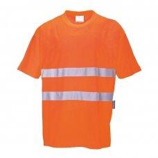 Marškinėliai PORTWEST S172, oranžiniai